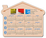 3.5 X 4.25 inch House Shape Magnets